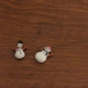 Origami owl snow people